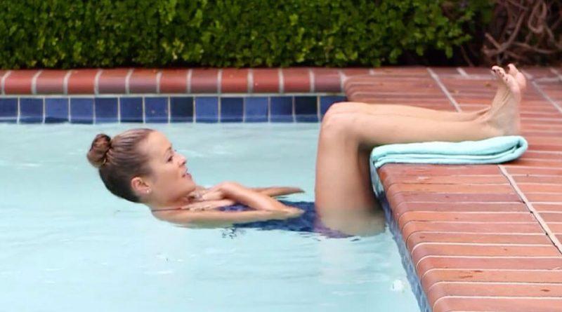 Tetap cool dan dapatkan perut six-pack dengan latihan di kolam
